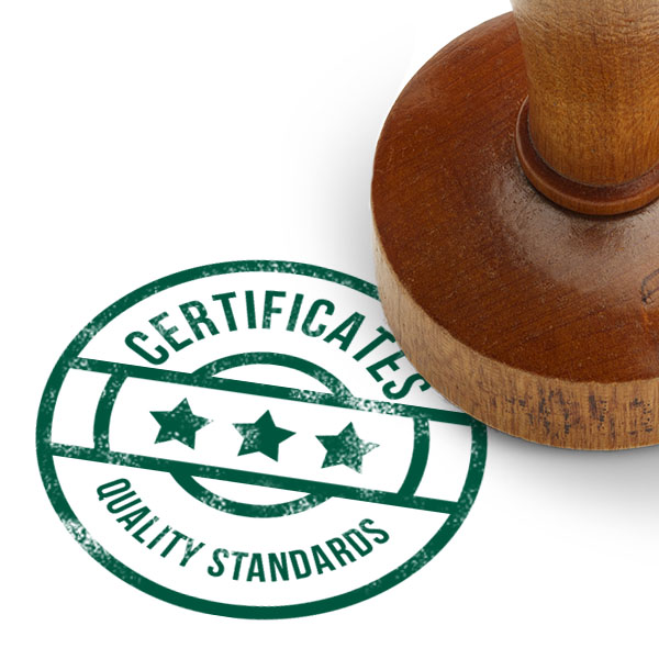 Certificates and Quality Standards